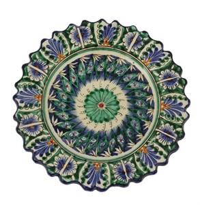 """Тарелка """"Восточные мотивы"""" рельефная, диаметр 17 см"""