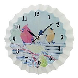 """Часы настенные металлические """"Птицы"""" #2"""