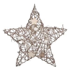 Звезда декоративная подвесная
