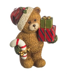 "Статуэтка ""Медвежонок с подарками"""