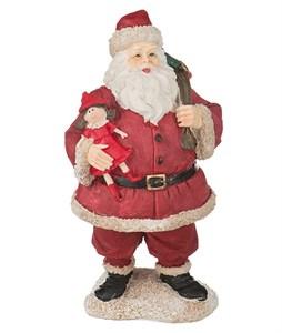 "Статуэтка ""Дед Мороз с куклой"""