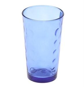 Стакан стеклянный синий 340 мл