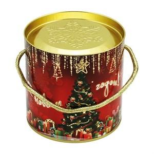 """Подарочная коробка с крышкой """"Новогодняя елка"""" 12х12 см"""