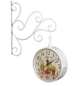 """Часы настенные двухсторонние """"Дивный сад"""""""