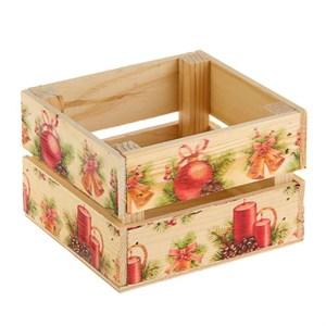 """Ящик деревянный """"Новогодний"""""""