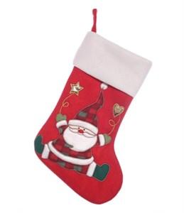 """Новогодний носок для подарков """"Дед Мороз"""""""