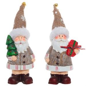 """Статуэтка """"Дед Мороз с елочкой/с игрушками"""""""