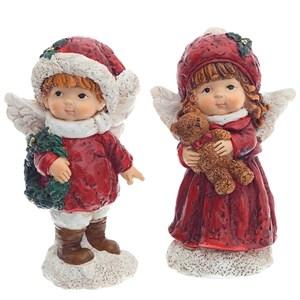 "Статуэтка ""Новогодний ангелок"" в ассортименте, цена указана за 1 статуэтку"