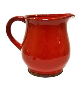 Кувшин керамический красный