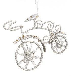 """Елочная игрушка """"Велосипед"""""""