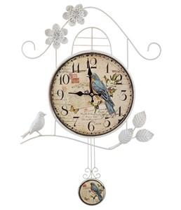 """Часы настенные """"Любовное послание"""" с маятником"""