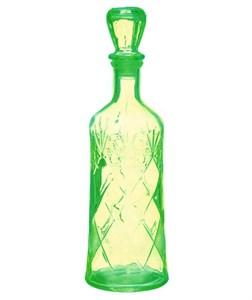 Графин-штоф стеклянный зеленый 500 мл