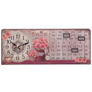 Часы-календарь горизонтальные