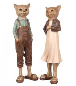 "Набор статуэток ""Кот и кошка"""