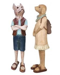 "Набор статуэток ""Две собаки"""