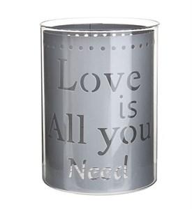 "Подсвечник ""Love is all you need"""