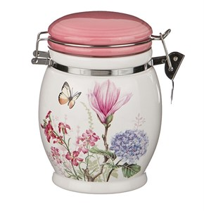 "Банка для сыпучих и хранения ""Летние цветы"" 750 мл"