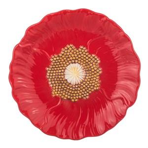 """Тарелка """"Цветок мака"""", диаметр 19 см"""