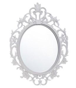 Зеркало белое резное 37х52 см