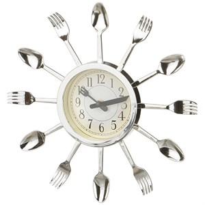 """Часы настенные кухонные """"Ложки-вилки"""""""