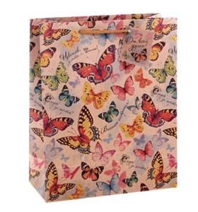 """Пакет бумажный """"Бабочки"""""""