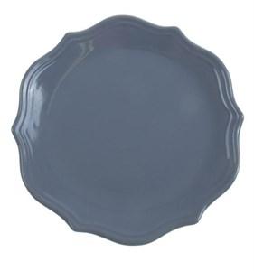 "Тарелка ""Испания"" серая диаметр 21 см"