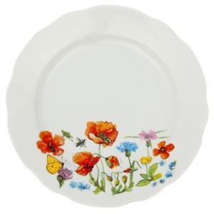 "Тарелка ""Летние цветы"" диаметр 17,5 см"