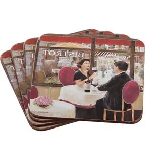 """Набор подставок """"Кафе Парижа"""""""