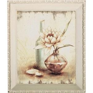 """Панно в раме """"Цветок в вазе"""""""