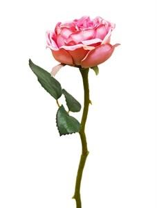 """Цветок искусственный """"Роза розовая"""""""