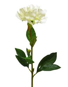 """Цветок искусственный """"Пион белый"""""""