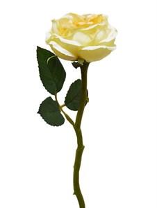 """Цветок искусственный """"Роза молочная"""""""