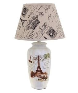 """Лампа настольная """"Париж"""" высокая"""