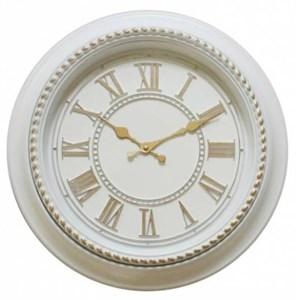 Часы настенные белые диаметр 40 см
