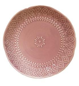 "Тарелка ""Розовый узор"" диаметр 20 см"