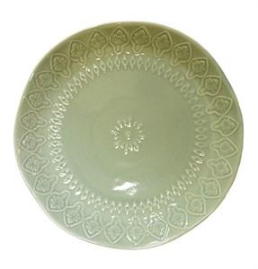 """Тарелка """"Бирюзовый узор"""" диаметр 20 см"""