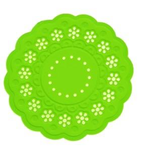 Набор из двух силиконовых подставок, диаметр 15 см