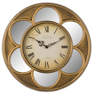 "Часы настенные ""Винтажный цветок"" диаметр 38 см"
