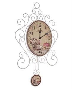 """Часы настенные """"Домашний уют"""" с маятником"""
