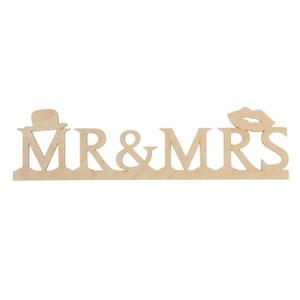 """Табличка деревянная """"Mr&Ms"""""""