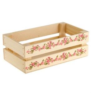 "Ящик деревянный ""Розочки"""