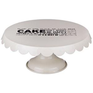 Тортница металлическая диаметр 20,5 см