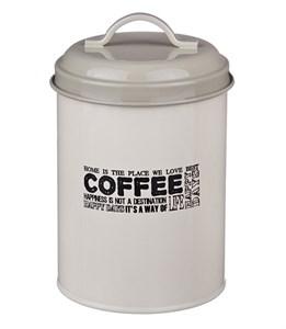 """Банка """"Кофе"""" металлическая для сыпучих и хранения"""