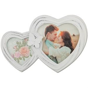 """Фоторамка """"Влюбленные сердца"""" для фотографии 12х11 см, 7,5х7,5 см"""