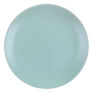 Тарелка бирюзовая диаметр 19 см
