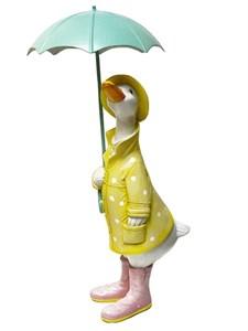 """Статуэтка """"Гусь под зонтом"""""""