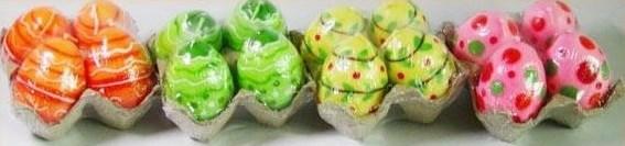 """Набор свечей """"Пасхальные яйца"""" в ассортименте разные цвета"""