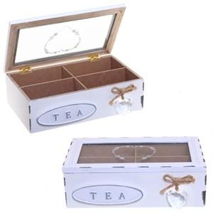 Шкатулка для чайных пакетиков 22х14 см
