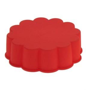 Силиконовая форма для выпечки 19х6 см в ассортименте разного цвета