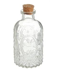 Бутылочка стеклянная с крышкой 200 мл